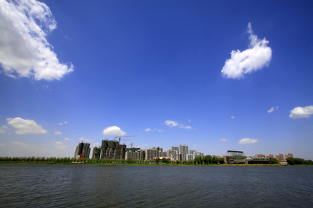 hebei: Water park scenery, Luannan County, Hebei Province, China