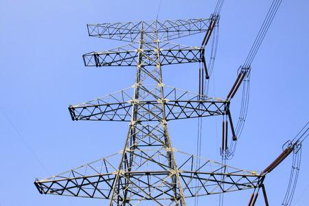 isolator insulator: Electric power equipment, closeup of photo Stock Photo