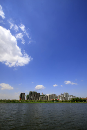 littoral: Water park scenery, Luannan County, Hebei Province, China