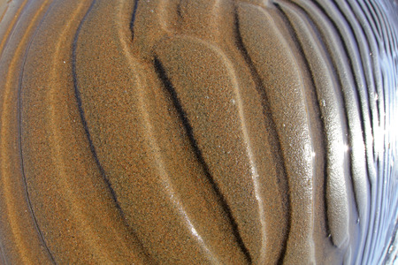deformity: beach texture in the wild, closeup of photo Stock Photo