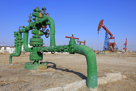 facilitated: Oil pipeline and pumping unit