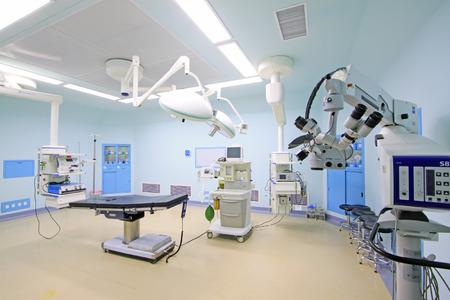 写真のクローズ アップ、手術室の医療機器 報道画像