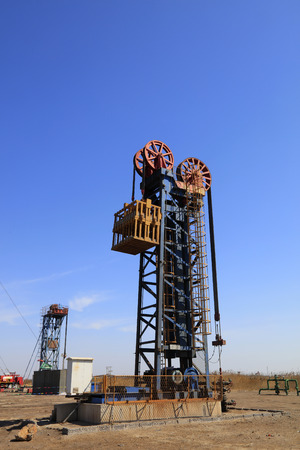 pumping unit: Tower type pumping unit in oil field, china