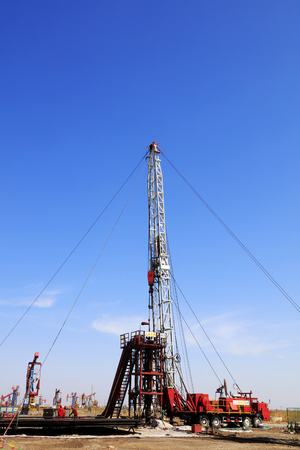 counterweight: Tower type pumping unit in oil field, china