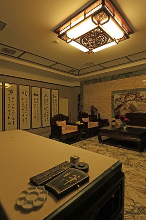 style: Chinese traditional style sanctum