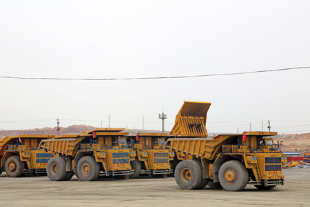 camion minero: camión de gran minería