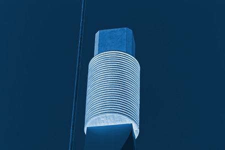 bobina: espiral de metal enorme, primer plano de la foto