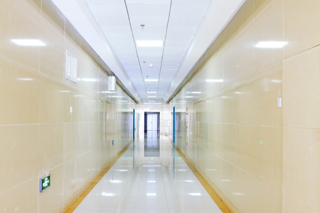 corridors: Spacious corridor Editorial