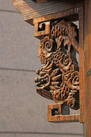 architectural tradition: Wood texture carve patterns