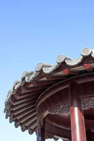 appearance: Chinese circular pavilion roof
