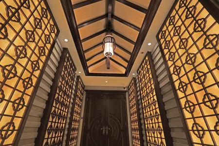 lattice window: Chinese traditional style wall decoration