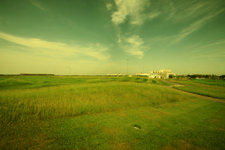 Hebei caofeidian golf villa scenery, China