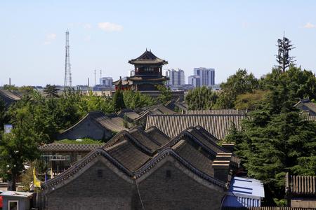 Antica architettura cinese Archivio Fotografico - 75773457