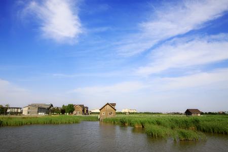 hebei: Hebei caofeidian golf course landscape
