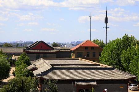 Antica architettura cinese Archivio Fotografico - 77253814