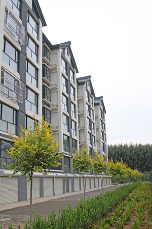 Grey high-rise building Editorial