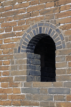 Chinas ancient defense walls entrance