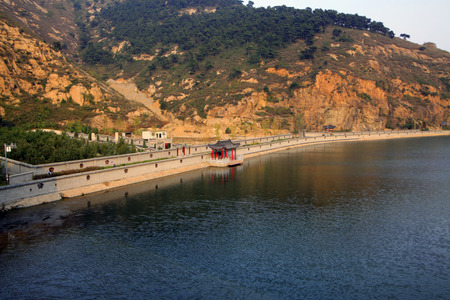 Great Wall scenic area reservoir