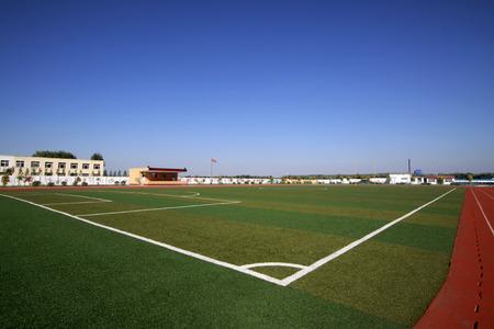 Middle school plastic playground, China 新聞圖片
