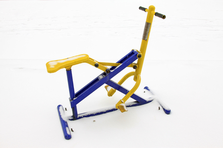 salud publica: Dispositivo de equitación dispositivo de fitness
