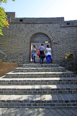 ancient China Great Wall building scenery