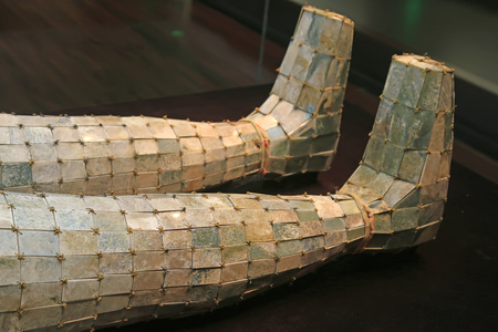 Burial clothes of ancient Chinese emperors