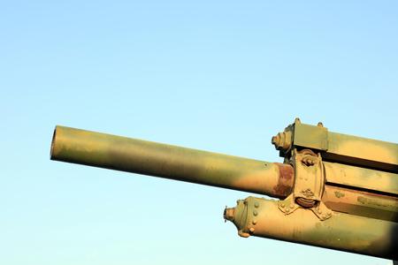Cannon barrel Stock Photo