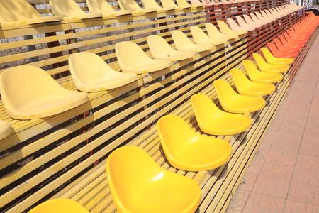 Stadium grandstand seating