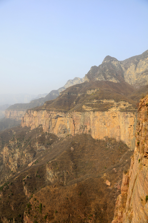 Grand Canyon natural scenery in Western China