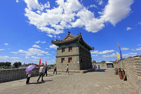 Shanhaiguan ancient city embrasured watchtower, China