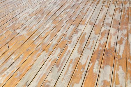 broken wooden floor