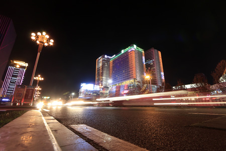 Chinese urban nightscape
