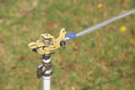 Garden sprinkler irrigation facilities