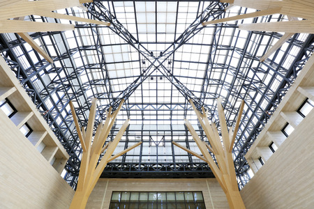 Hall building frame