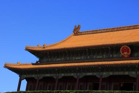 Tiananmen city building in Beijing