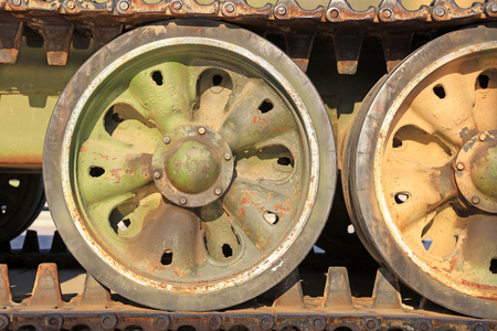Tank wheel Editorial