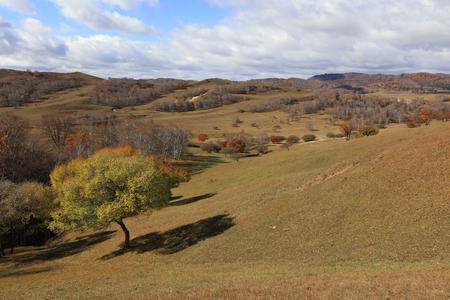 sights of the Ulan prairie in Inner Mongolia, China Stock Photo