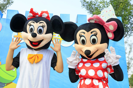 Cartoon character Mickey Mouse