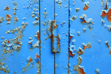 Mottled iron and paint Stock Photo