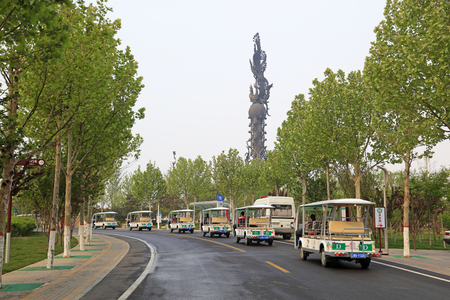 Boulevard in the park