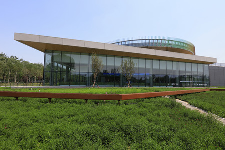 Park building in Tangshan, China