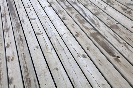 wet wooden floor Imagens