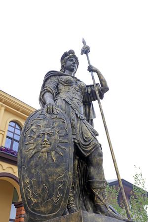 Rome ares Minerva sculpture