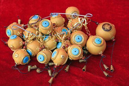 gourd drum craftwork