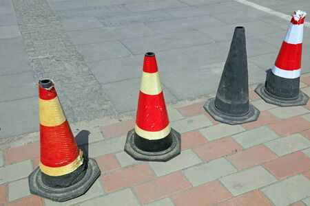 Conical Barrel for Traffic Barrier