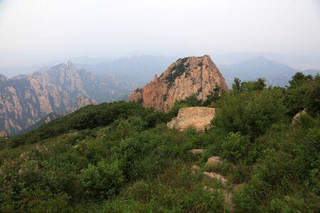 Mountain Natural Scenery, Zushan, China Banco de Imagens
