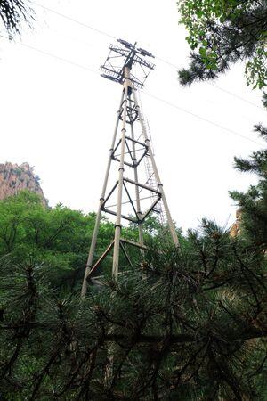 Landscape Cableway Support