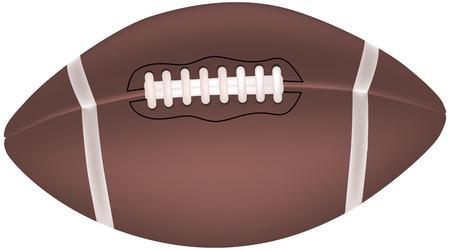 football Stock Vector - 4222594