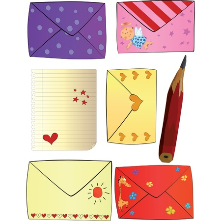 Letters Happy Valentines day  Vector