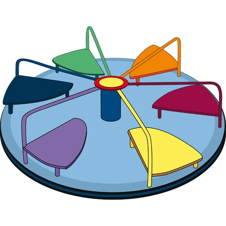 playground ride: Roundabout